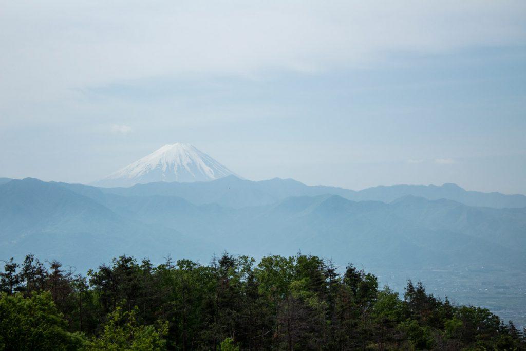 50 souvenirs du Japon - Vue sur le Mont Fuji depuis Isawaonsen