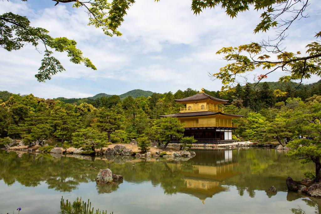 50 souvenirs du Japon - Visiter le Kinkakuji