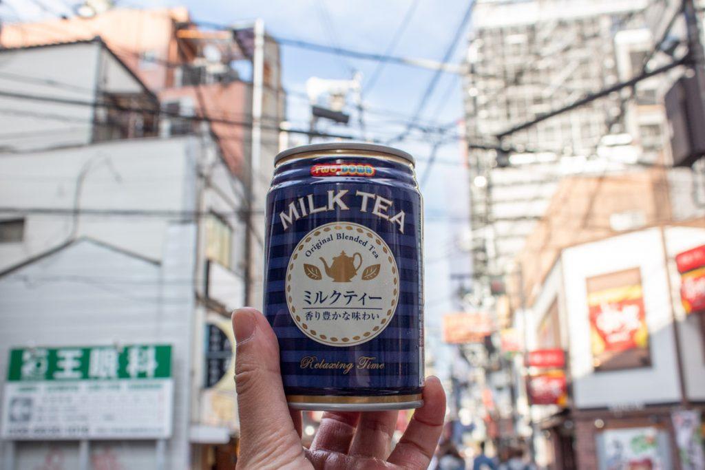 50 souvenirs du Japon - Boire du milk tea