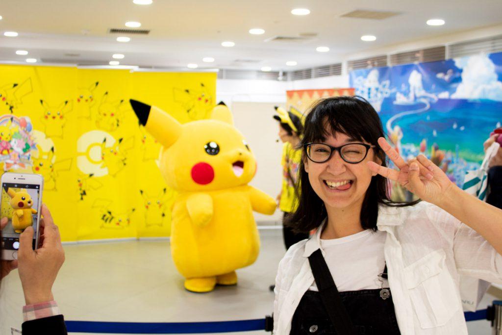 50 souvenirs du Japon - Rencontrer Pikachu