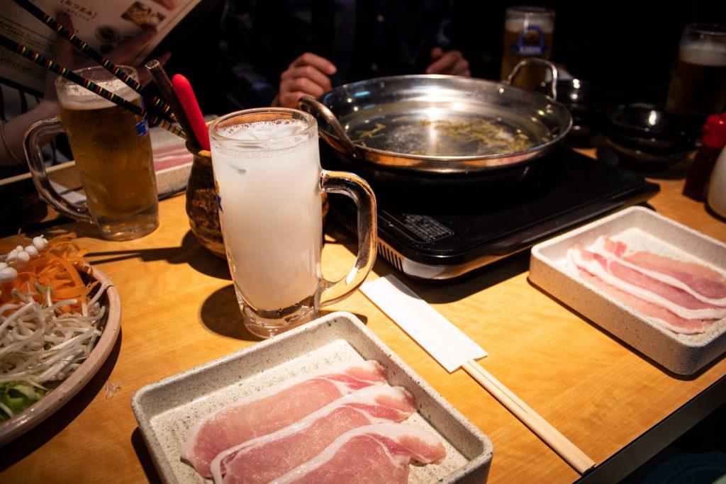 50 souvenirs du Japon - Shabu-shabu