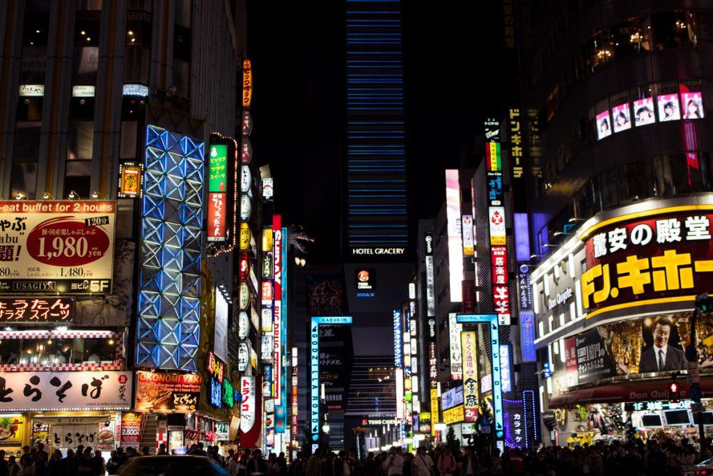 50 souvenirs du Japon - Shibuya de nuit