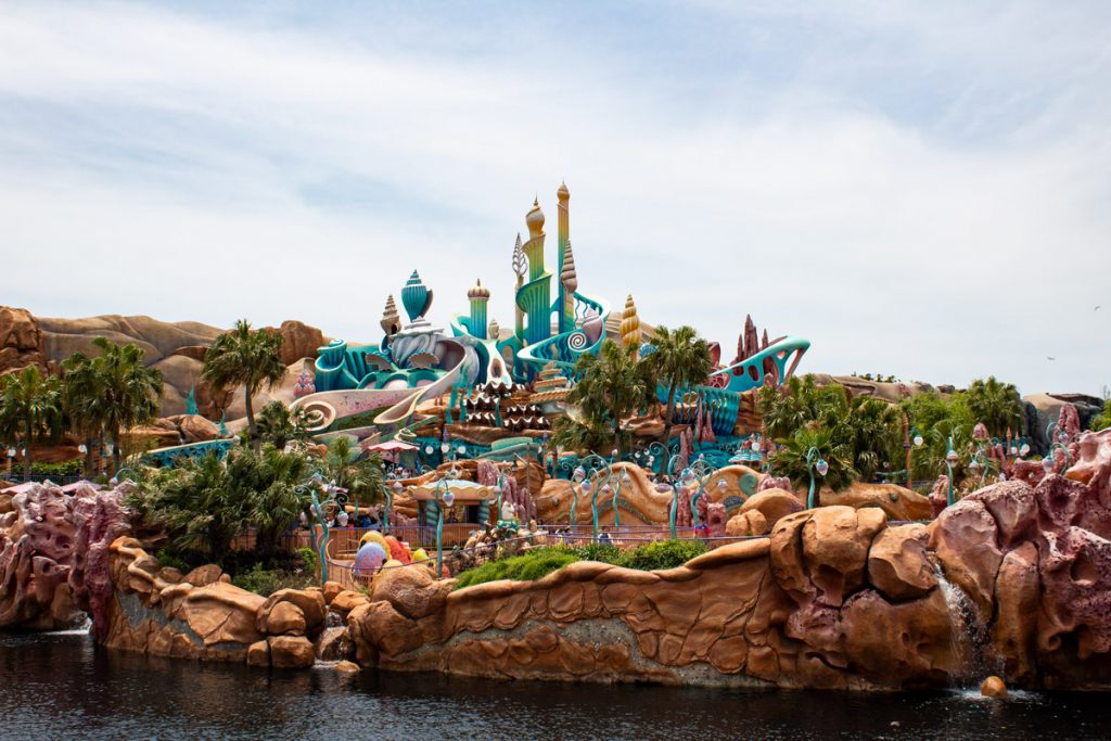 50 souvenirs du Japon - Aller à Disney Sea et voir le Monde de la Petite Sirène
