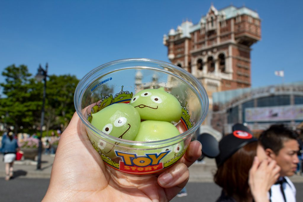 50 souvenirs du Japon - Snack à Disney Sea