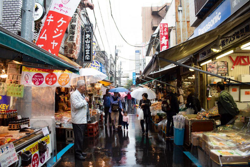 50 souvenirs du Japon - Marché au poissons de Tsukiji
