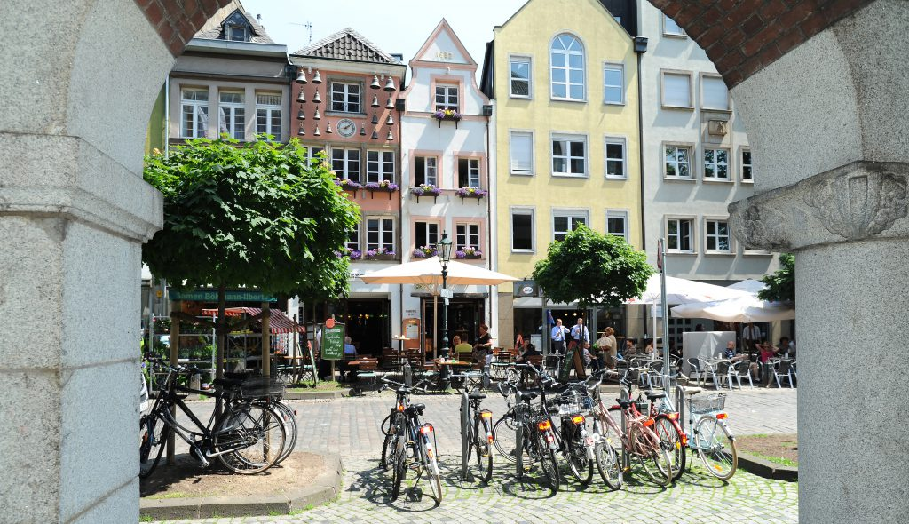 Visiter Düsseldorf - Façades de Altstadt (©Düsseldorf Tourismus GmbH)