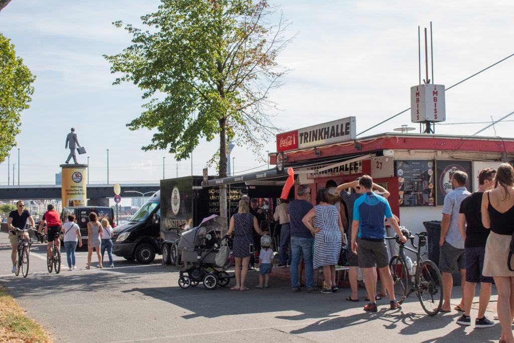 Visiter Düsseldorf - Kiosk