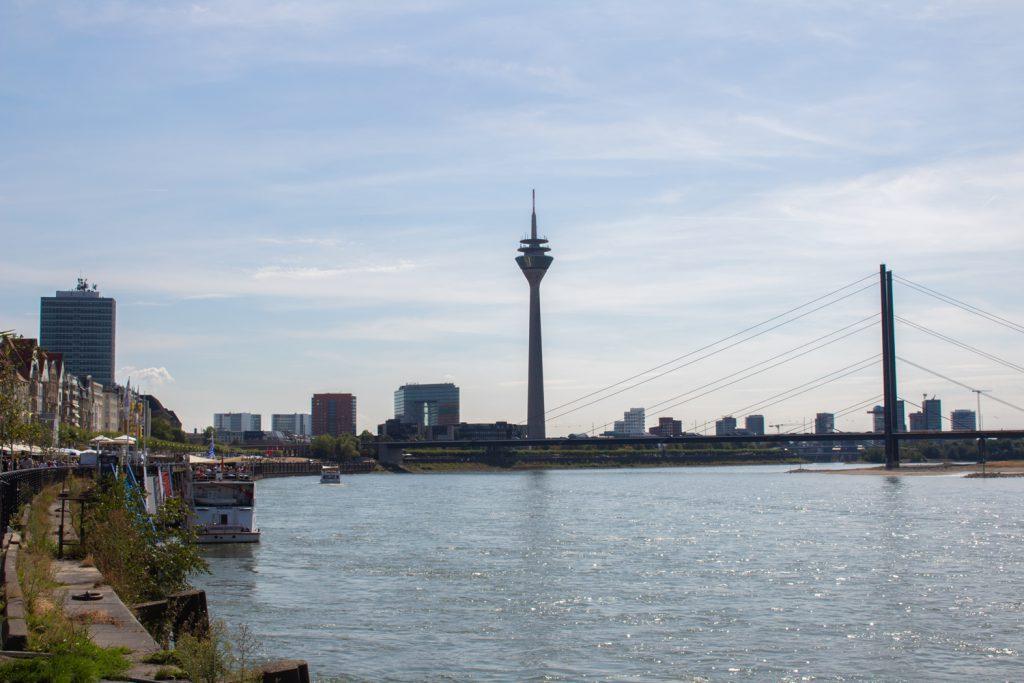 Visiter Düsseldorf - Horizon de Düsseldorf