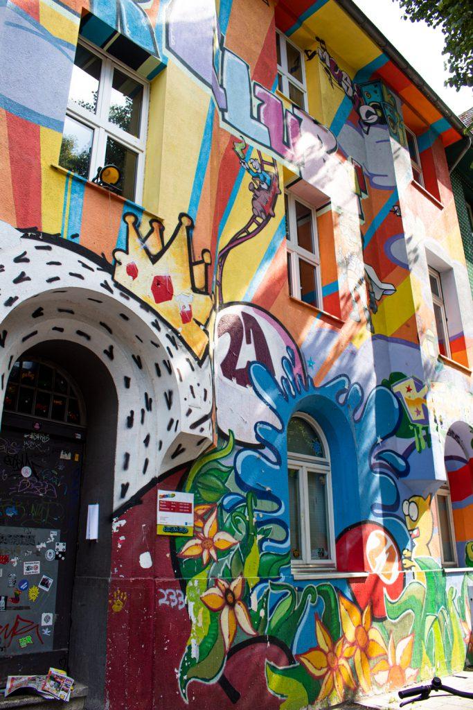 Visiter Düsseldorf et ses musées - Kiefernstraße