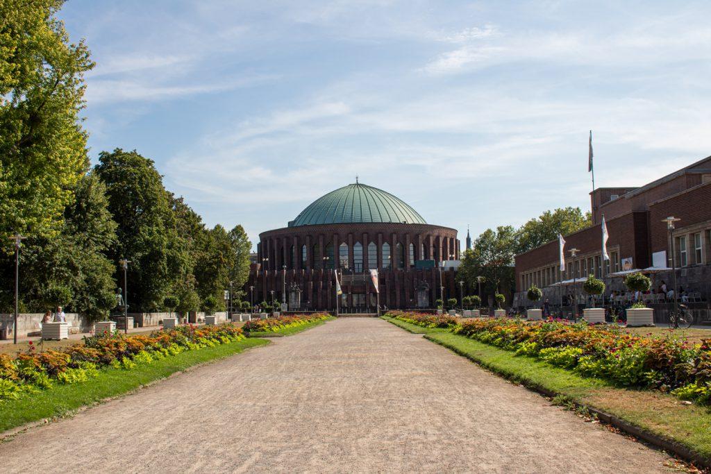 Visiter Düsseldorf et ses musées - Tonhalle