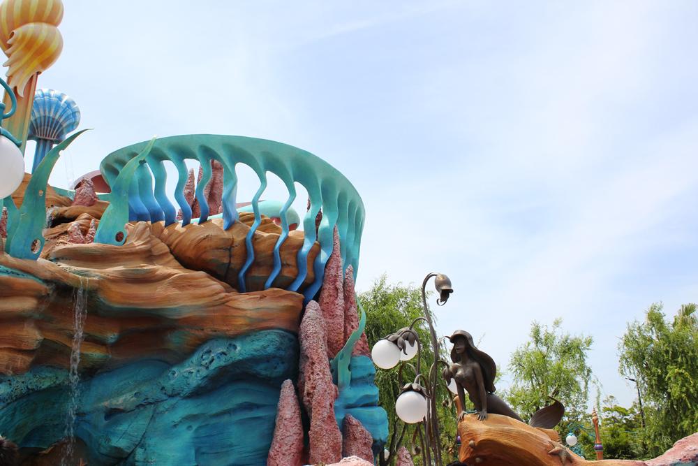 Visiter Tokyo DisneySea - Mermaid World