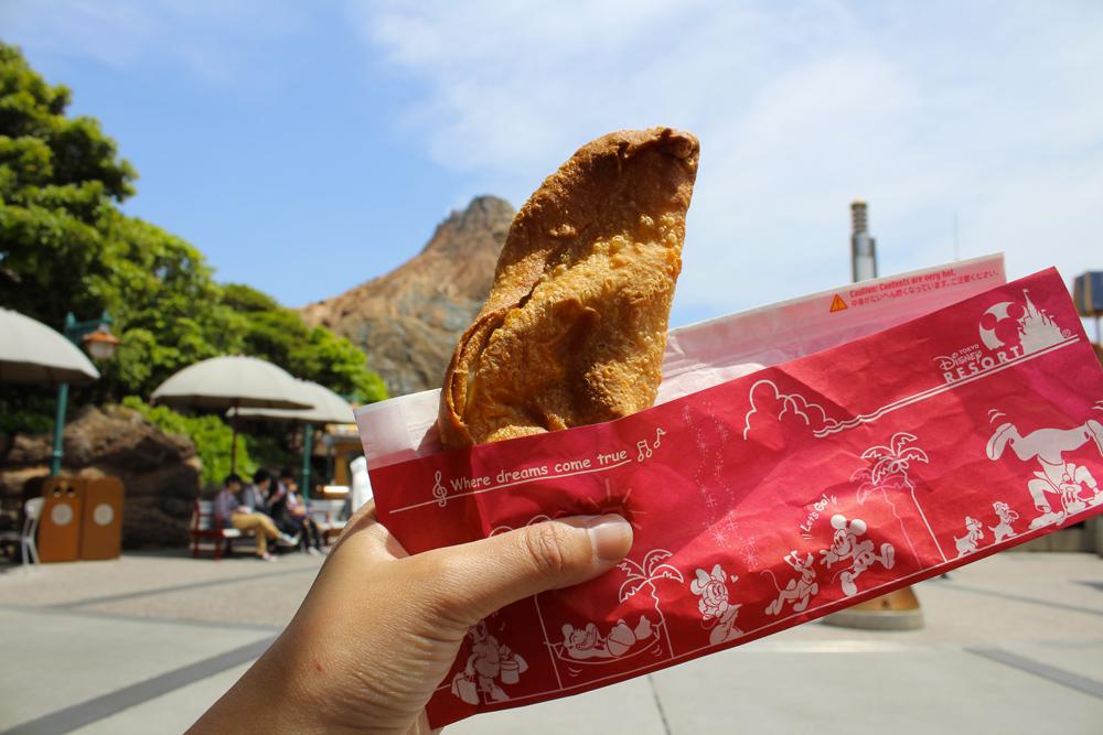 Visiter Tokyo DisneySea - Nourriture - Calzone