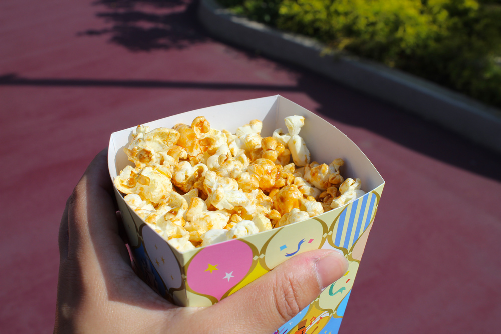 Visiter Tokyo DisneySea - Nourriture - Popcorn