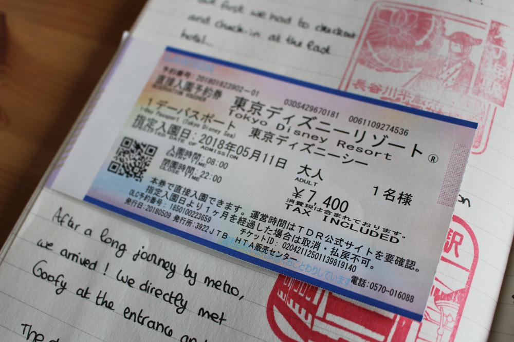 Visiter Tokyo DisneySea - Ticket