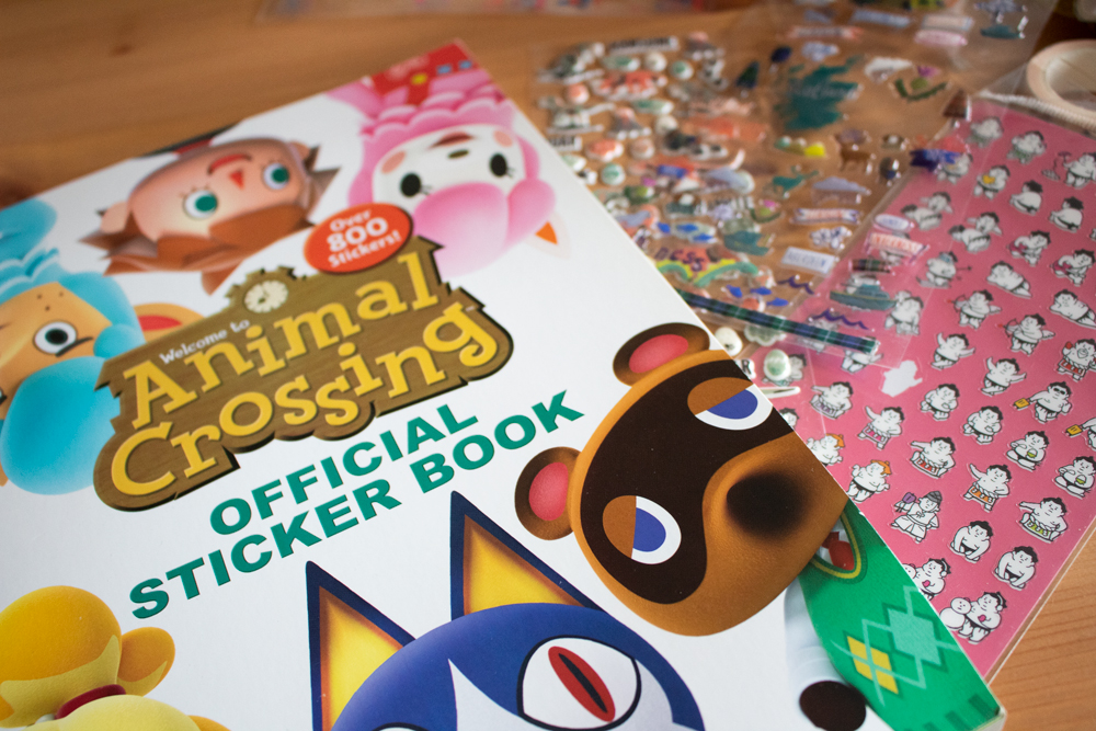 Indispensables pour bullet journal - Autocollants animal crossing
