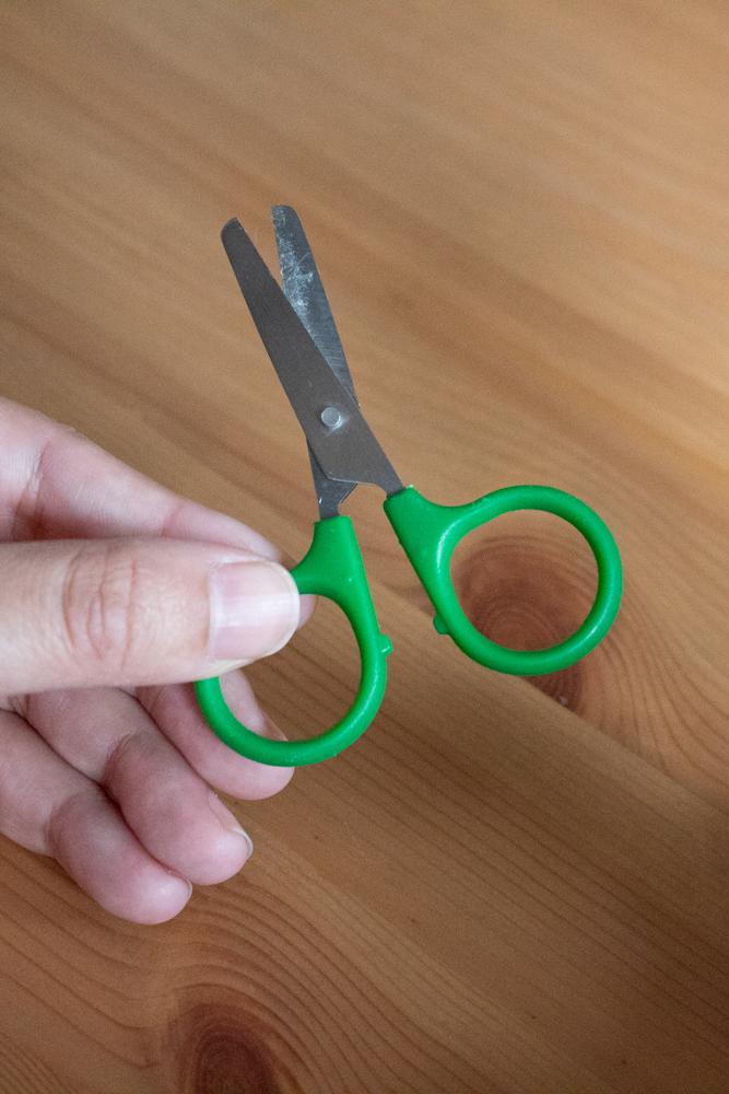 Indispensables pour bullet journal - Ciseaux miniature