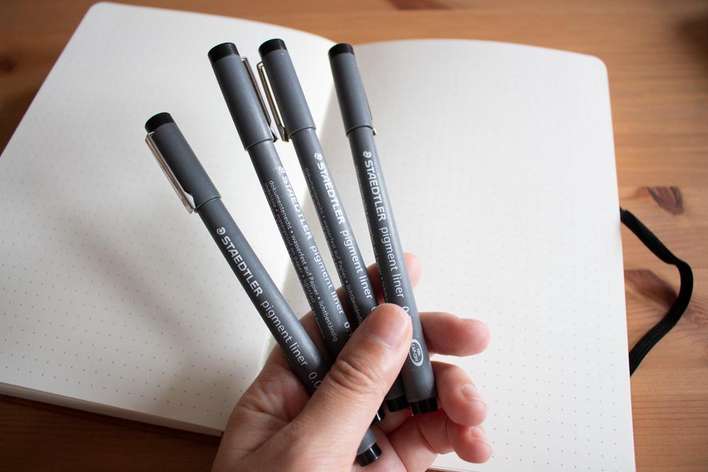 Indispensables pour bullet journal - Marqueur Staedler