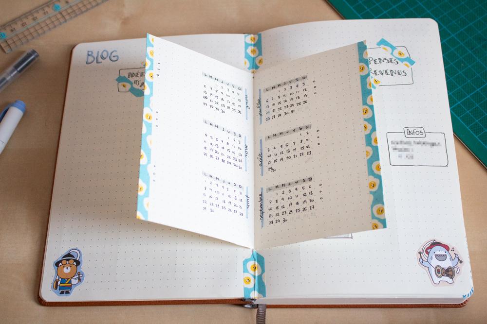 Mon setup pour bullet journal 2020 - Blogging - Dutch Door
