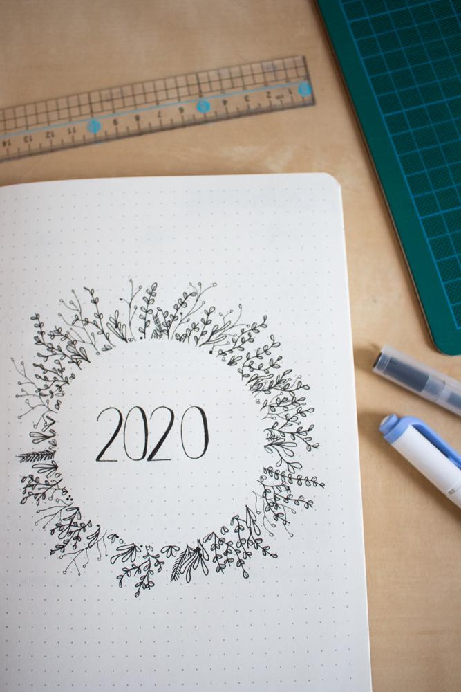 Mon setup pour bullet journal 2020 - Introduction