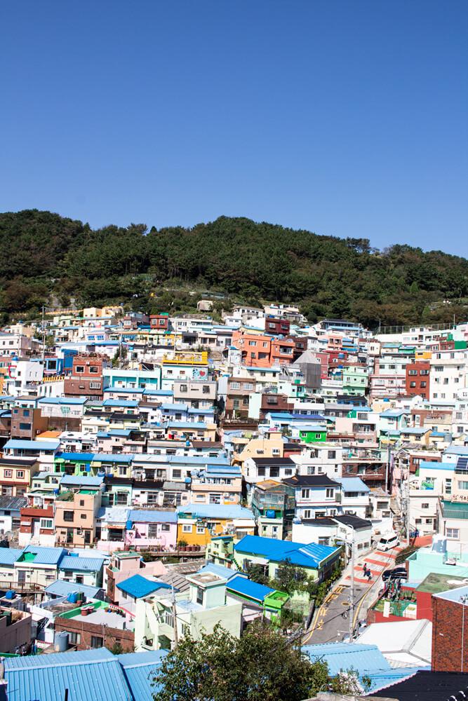 Roadtrip de 3 semaines en Corée - Busan Gamcheon Village