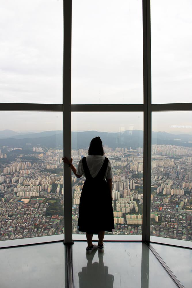 Roadtrip de 3 semaines en Corée - Seoul Lotte Tower