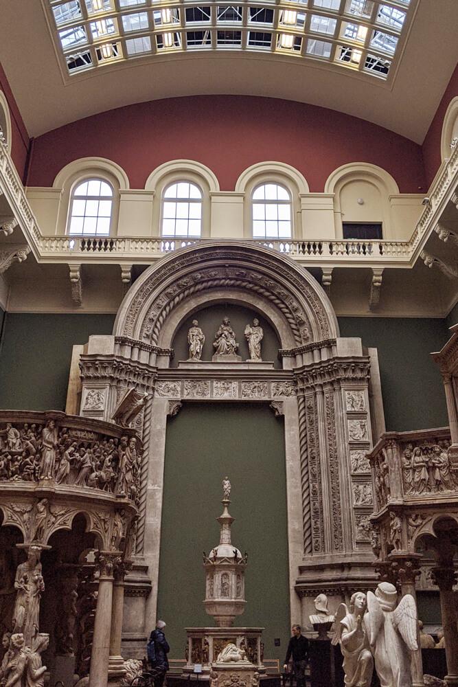 Voyage solo à Londres - Albert & Victoria Museum