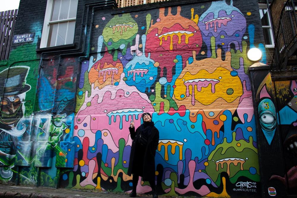 Voyage solo à Londres - Camden street art