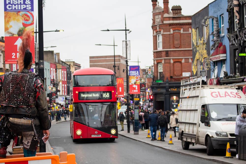 Voyage solo à Londres - Camden