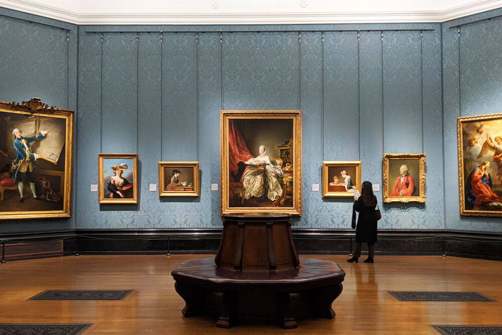 Voyage solo à Londres - National Portrait Gallery
