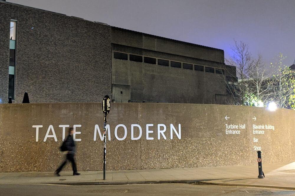 Voyage solo à Londres - Tate Modern