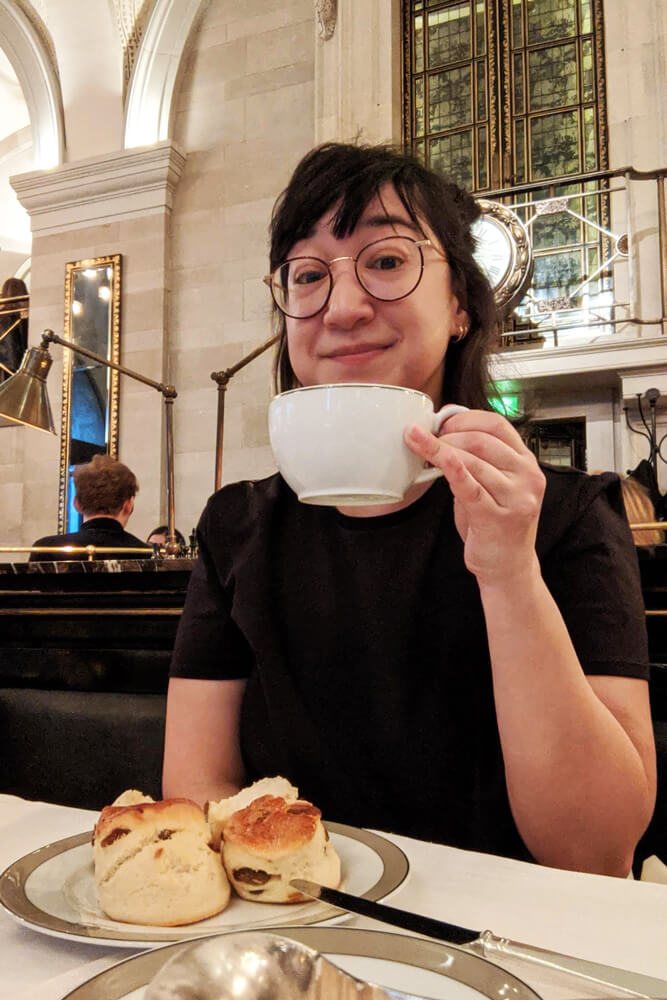 Voyage solo à Londres - The Wolseley Tea time