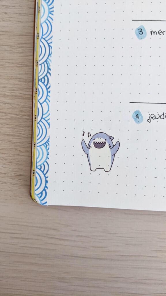 Bullet Journal Juin 2020 - Focus sur les stickers Artbox