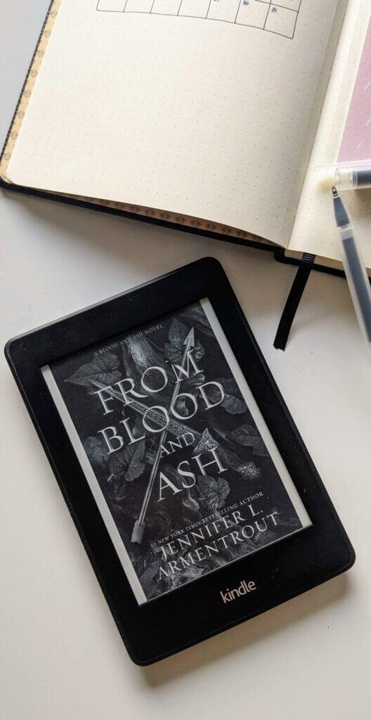 Lectures préférées de 2020 - From blood and ash de Jennifer L. Armentrout