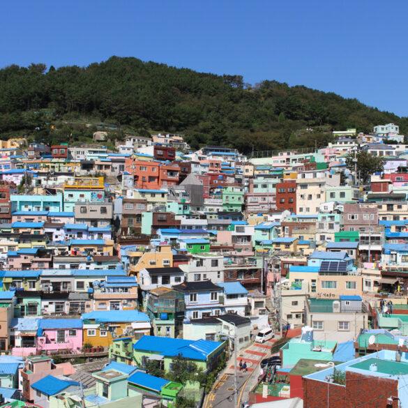 Gamcheon Culture Village de Busan - Stamp trail