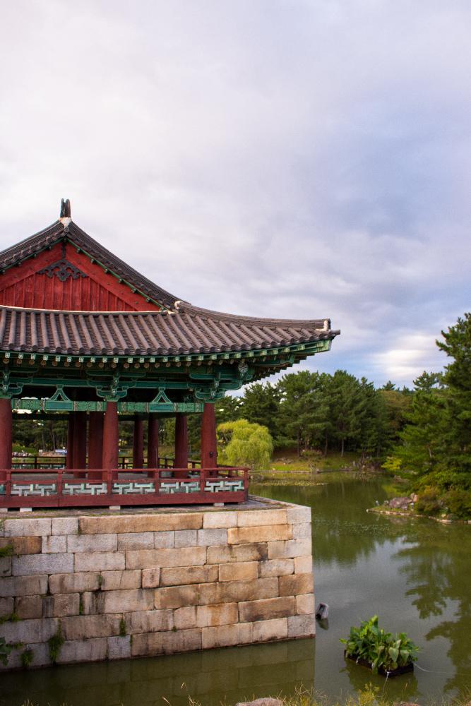 Une journée à Gyeongju en Corée du Sud - Donggung Palace, vue du palais