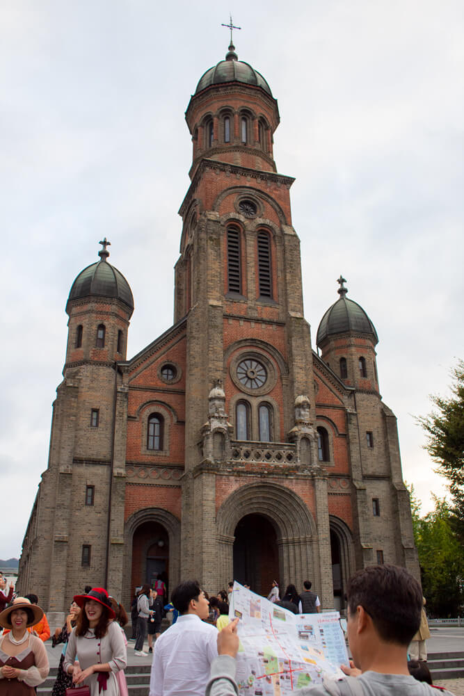 Visiter Jeonju en 24 heures - Guide - Cathédrale Jeondong