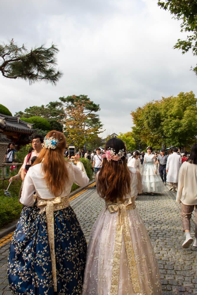 Visiter Jeonju en 24 heures - Guide - Hanbok