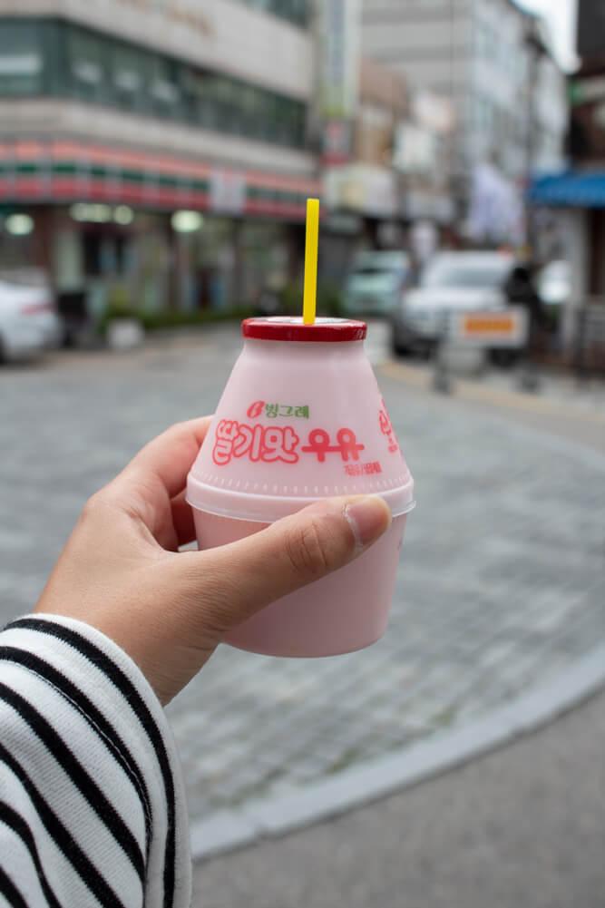 Visiter Jeonju en 24 heures - Guide - Lait parfumé