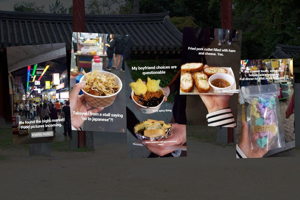 Visiter Jeonju en 24 heures - Guide - Nambu Market