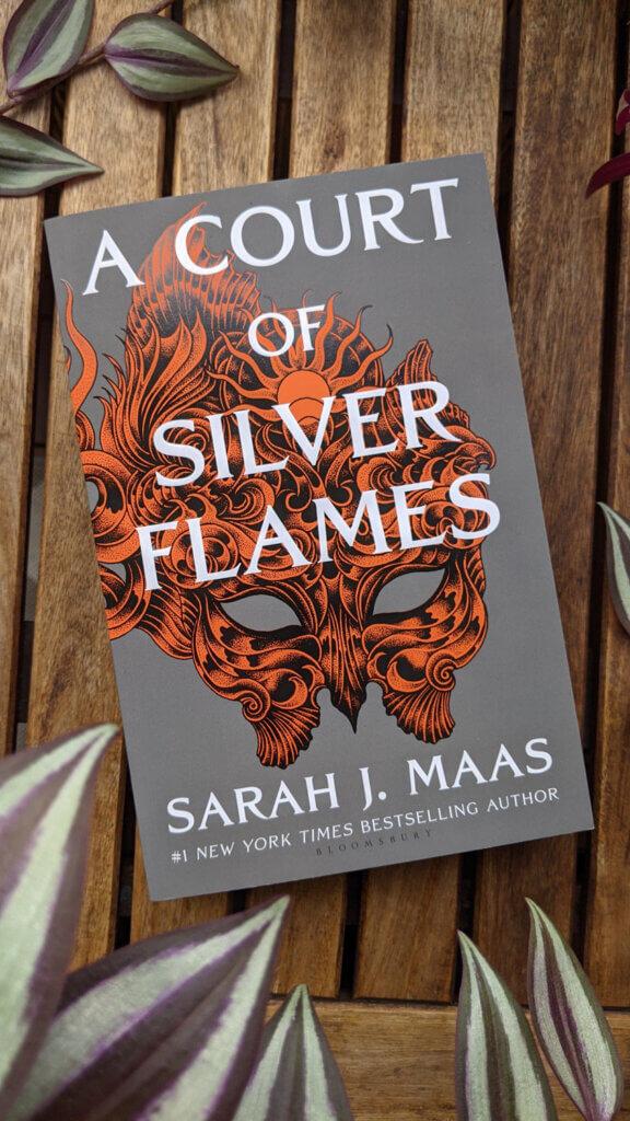 Dernières lectures - Février et Mars 2021 - A court of Silver Flames de Sarah J. Maas