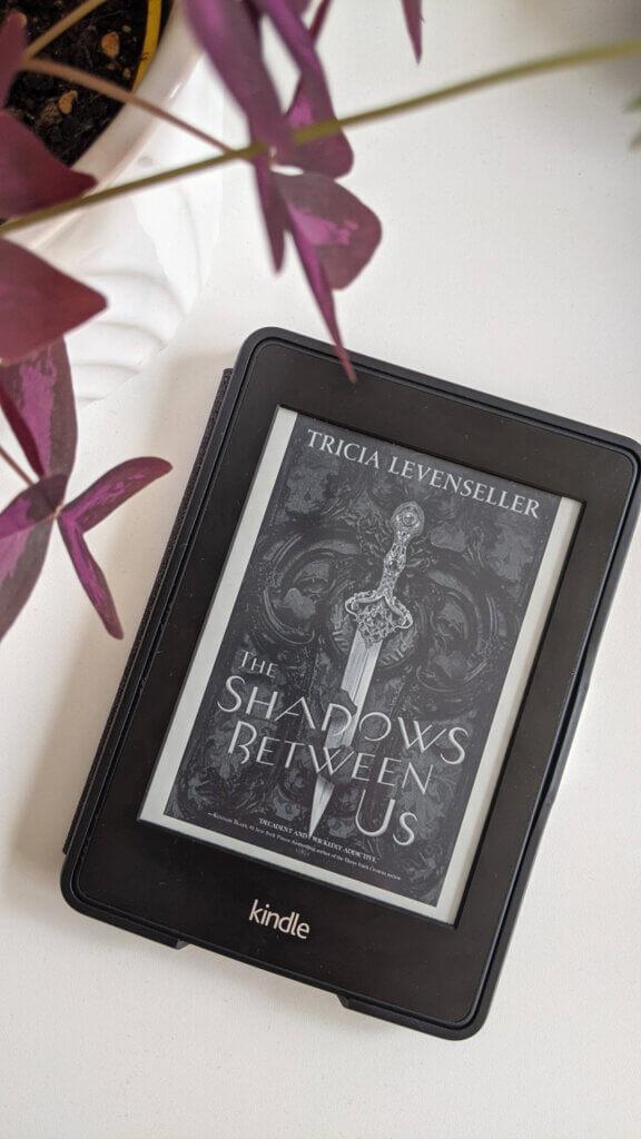 Dernières lectures - Février et Mars 2021 - The Shadows between us de Tricia Levenseller