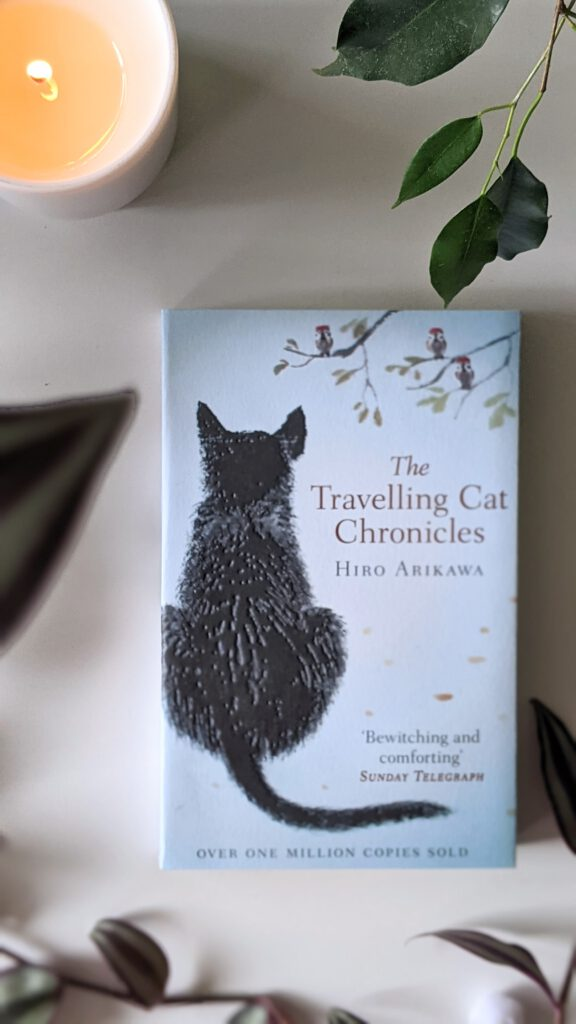 Sélection de livres pour découvrir et voyager au Japon - Les mémoires d'un chat de Hiro Arikawa